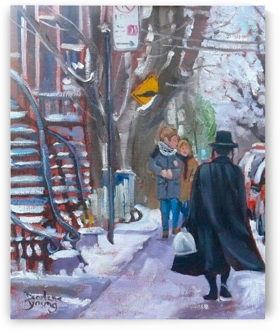 Mile End Montreal by Darlene Young Canadian Artist