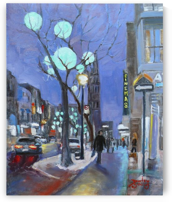 St Denis UQAM by Darlene Young Canadian Artist