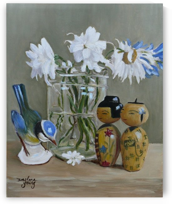 Flower for My Lady by Darlene Young Canadian Artist