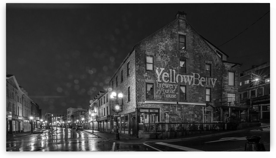 Rain Drizzle and Beer by David Brophy