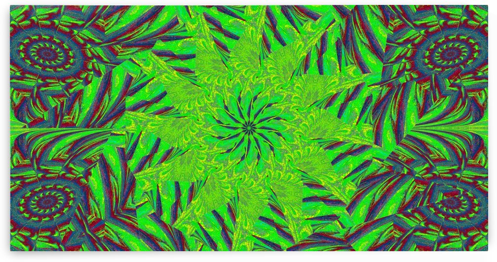 Green Meadow Wildflower by Sherrie Larch