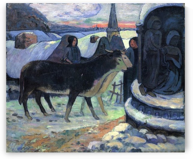 Christmas by Gauguin by Gauguin