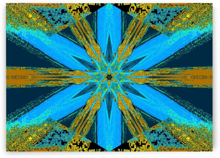 Jeweled Wildflower 4 by Sherrie Larch