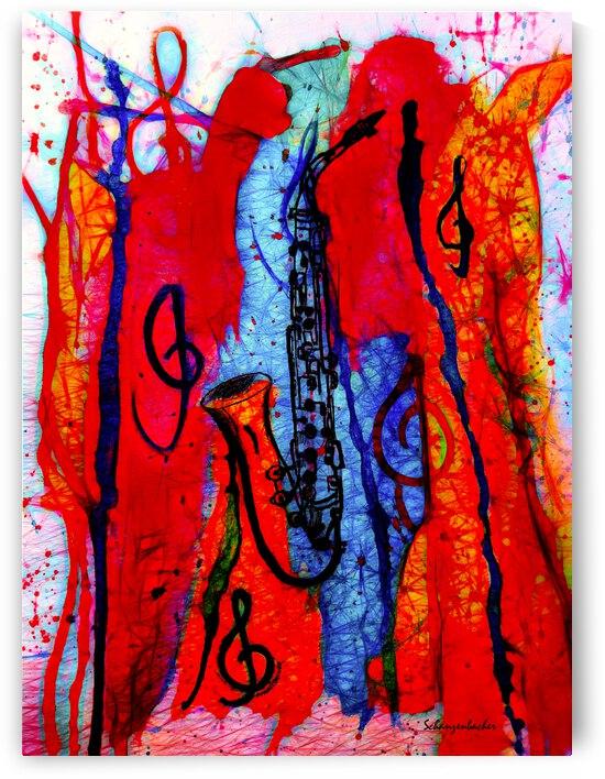 Saxophone Electrified by Aurelia Schanzenbacher Sisters Fine Arts