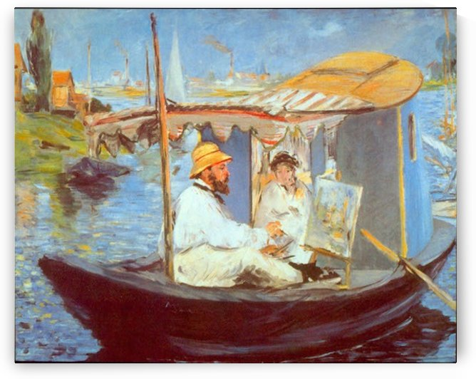 Claude Monet by Manet by Manet