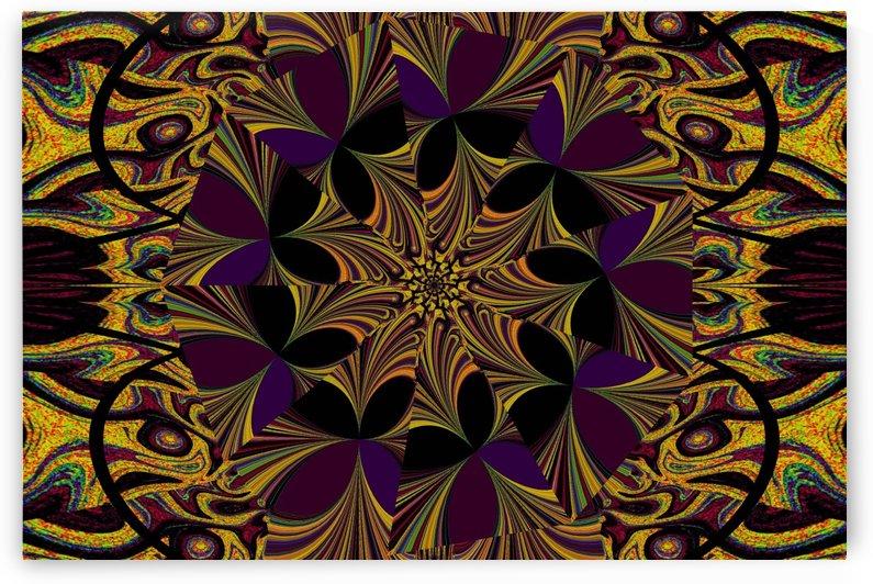 Purple Bloom by Sherrie Larch
