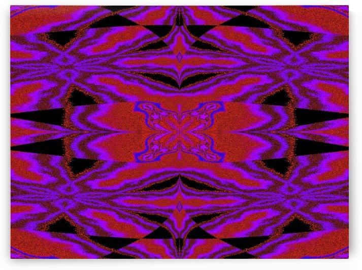 Purple Wind Flower 4 by Sherrie Larch