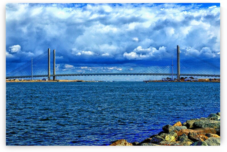 Indian River Bridge Cloud Bank by Bill Swartwout Photography