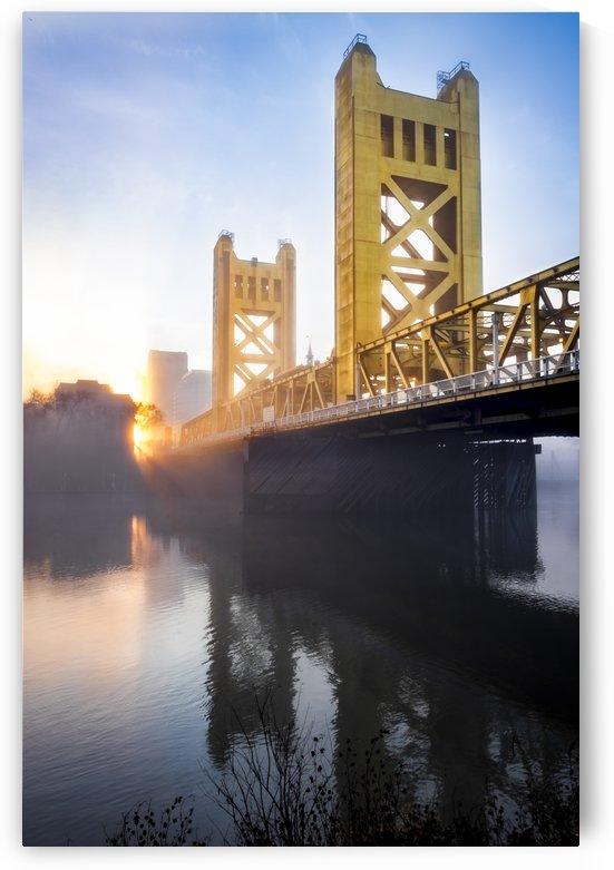 Tower Bridge Sunrise by Gary Geddes