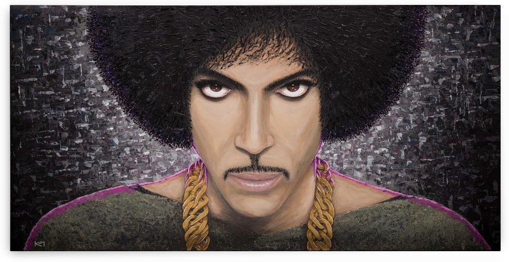 Purple Transcendence by Kos Art