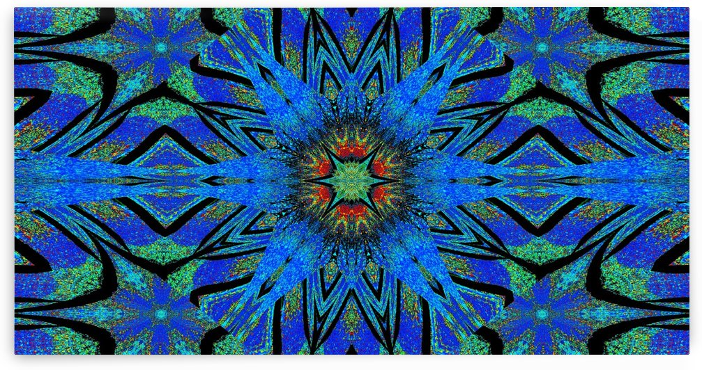 Totem Wildflower 5 by Sherrie Larch