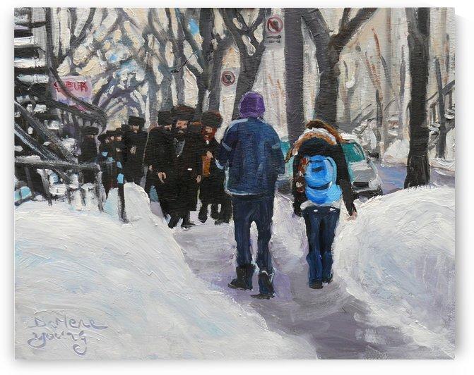 Shabbat by Darlene Young Canadian Artist