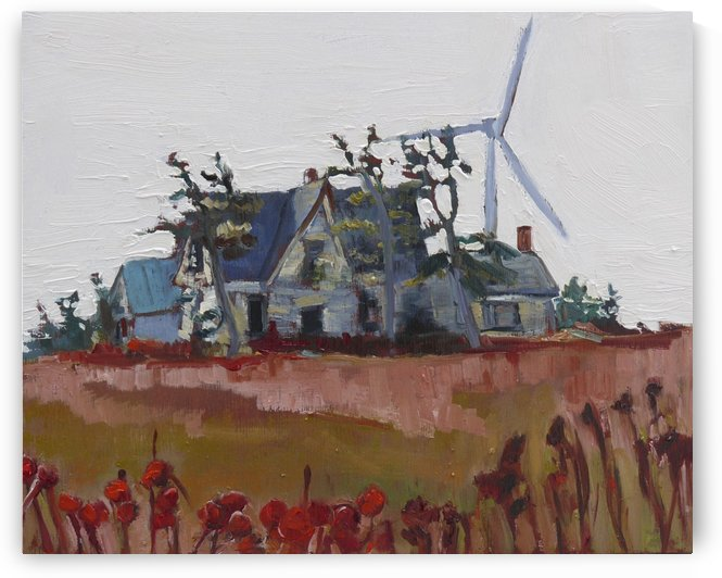 Wind Power  by Darlene Young Canadian Artist