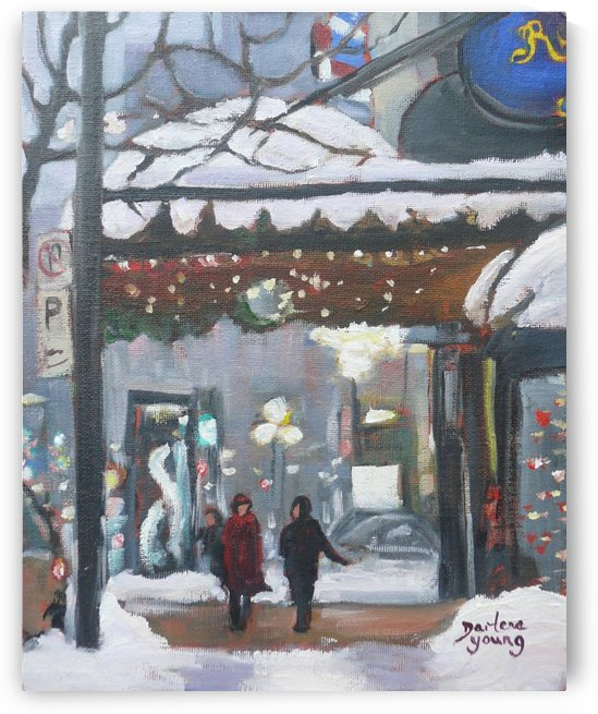 The Ritz Montreal by Darlene Young Canadian Artist
