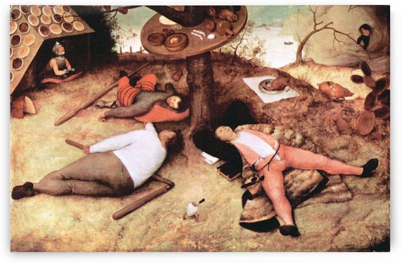 Cockaigne -1- by Pieter Bruegel by Pieter Bruegel