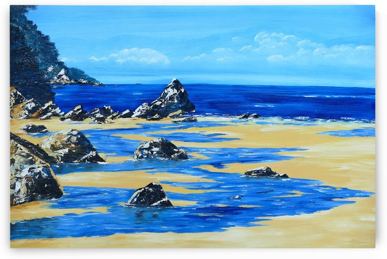 Beach by Birgit Moldenhauer