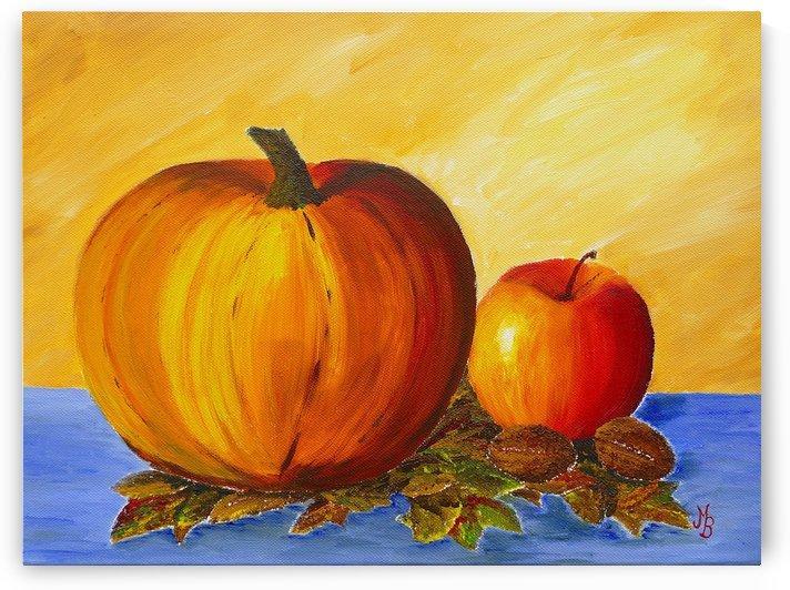 Pumpkin and Nuts by Birgit Moldenhauer