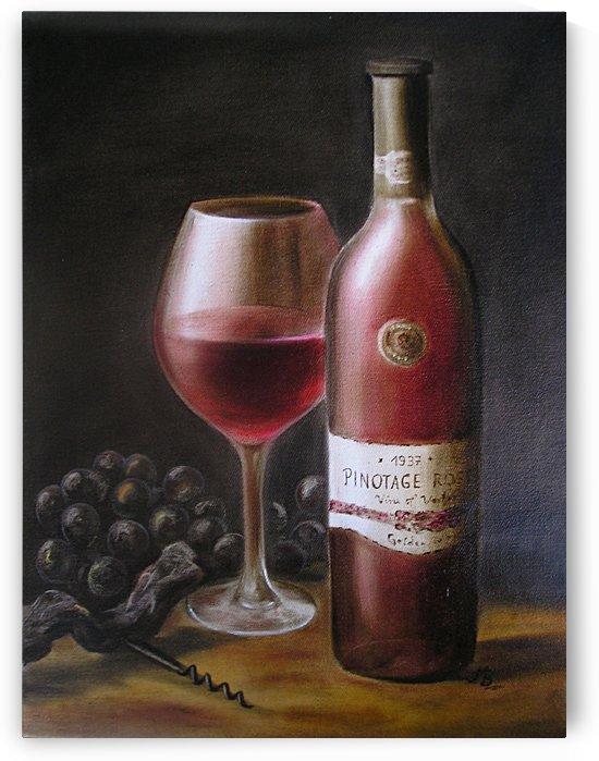Red Wine by Birgit Moldenhauer