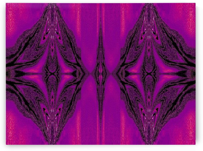 Purple Desert Song 3 by Sherrie Larch