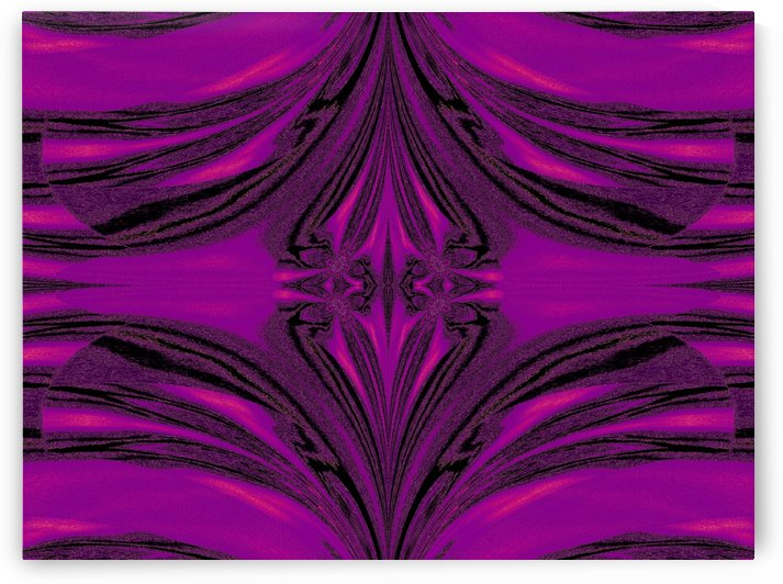 Purple Desert Song 6 by Sherrie Larch