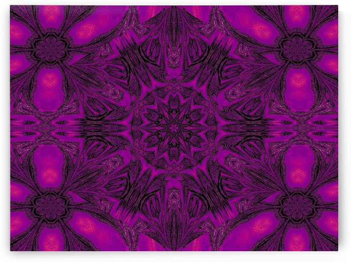 Purple Desert Song 21 by Sherrie Larch