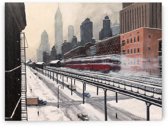 3rd Avenue El by Dave Rheaume