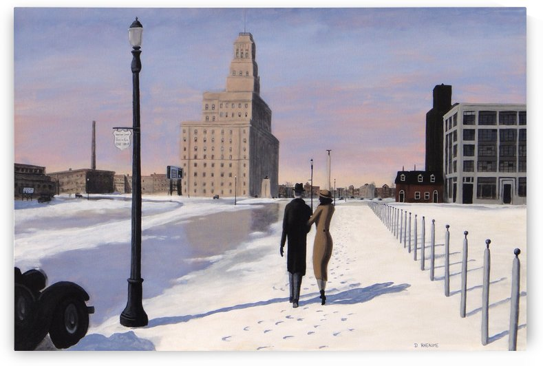 University Avenue by Dave Rheaume