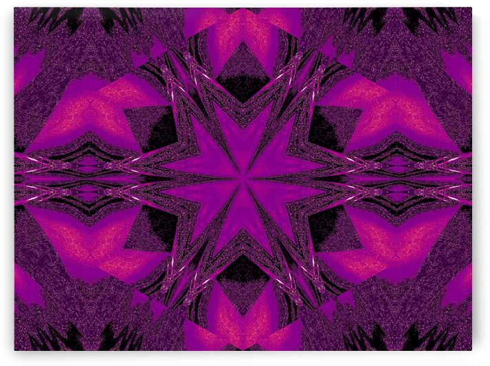 Purple Desert Song 28 by Sherrie Larch