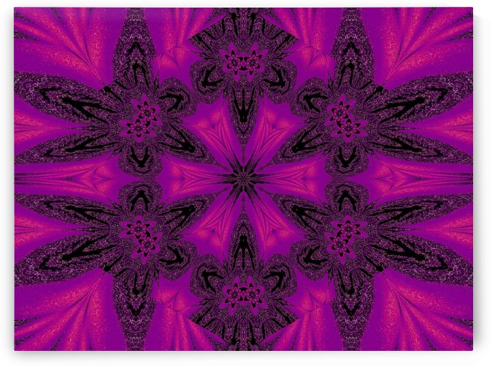 Purple Desert Song 36 by Sherrie Larch