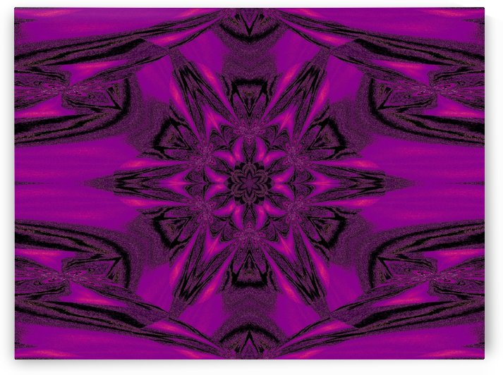 Purple Desert Song 40 by Sherrie Larch