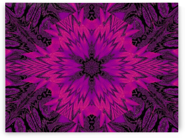 Purple Desert Song 42 by Sherrie Larch