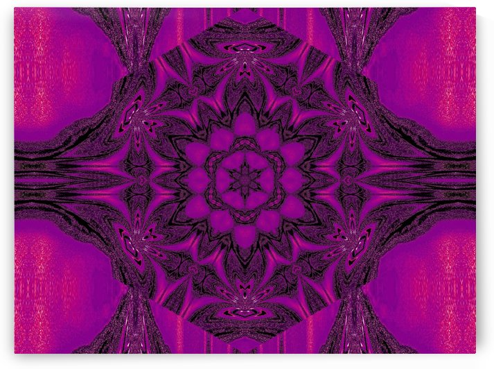 Purple Desert Song 43 by Sherrie Larch