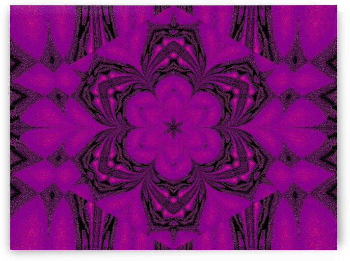 Purple Desert Song 46 by Sherrie Larch