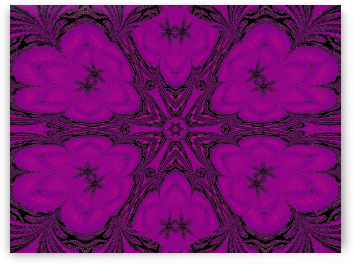 Purple Desert Song 47 by Sherrie Larch