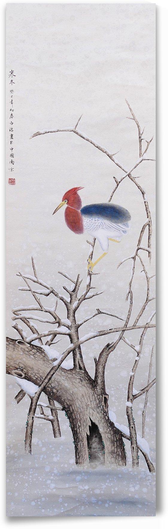 Winter Bird by Birgit Moldenhauer