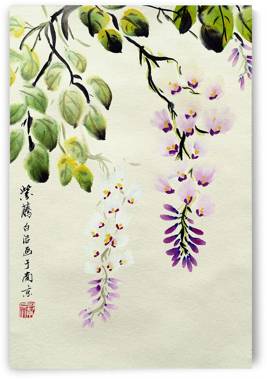 Purple Orchid by Birgit Moldenhauer