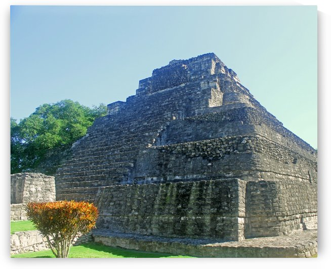 Beauty of Mayan Ruins by Gods Eye Candy
