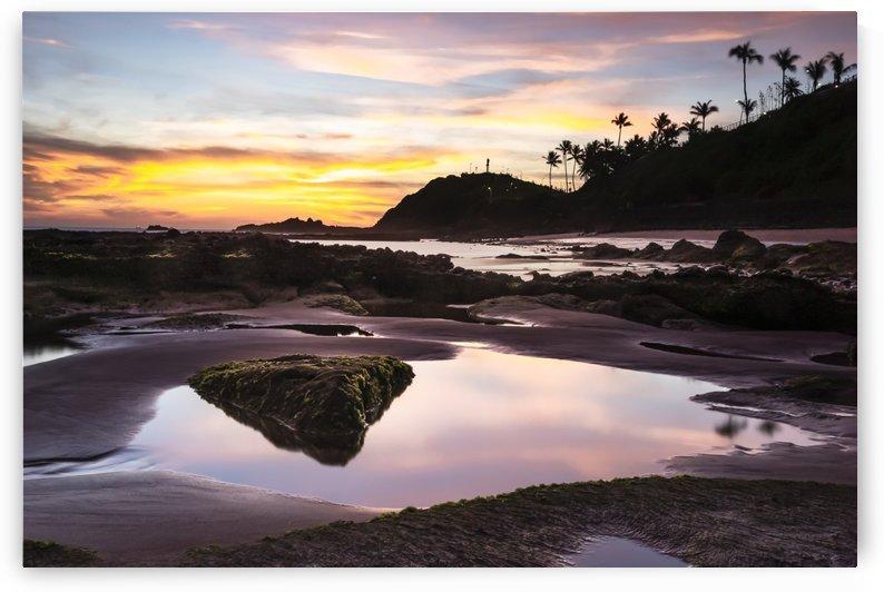 Sunset at Salvador - Brazil by Carol Assis