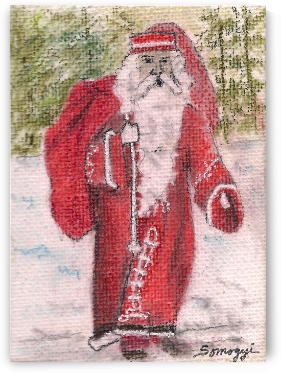 Santa Stroll by Jayne Somogy