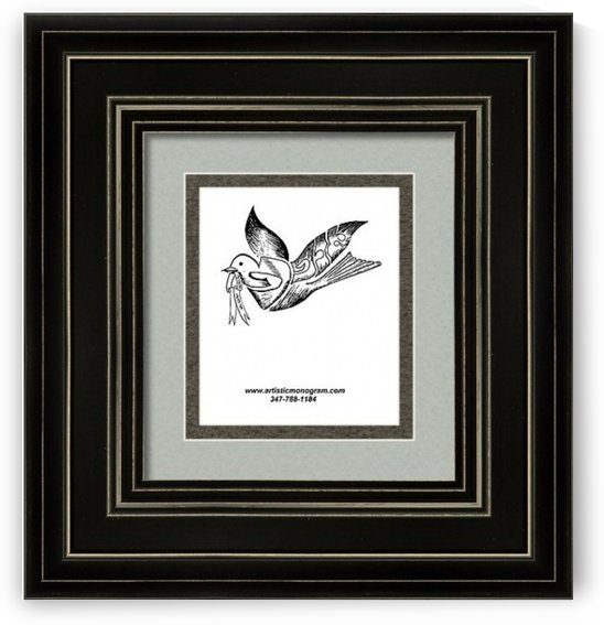 art dove frame by pinchos tewel