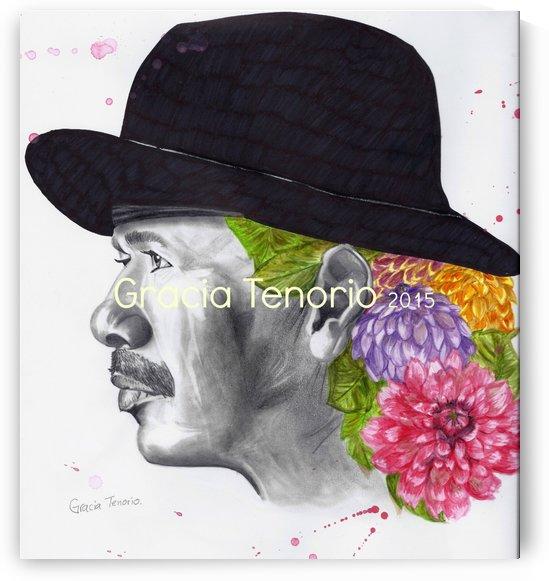 Santana flowerly by Gracia Tenorio Art