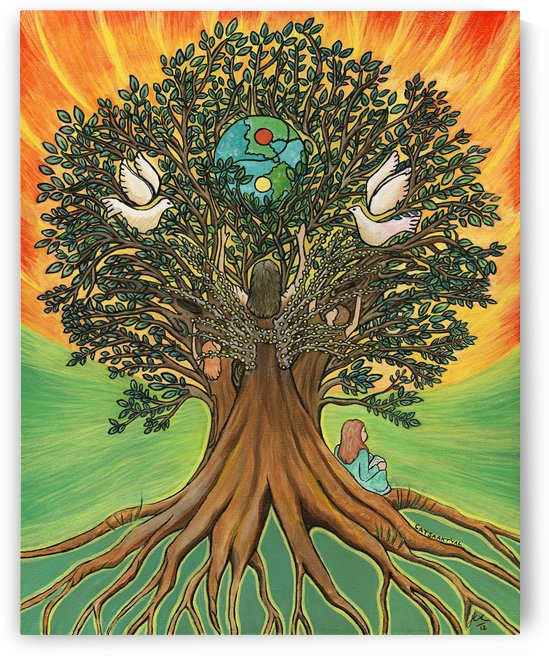 Rooted In The Tree Of Humanity by Janis Cornish