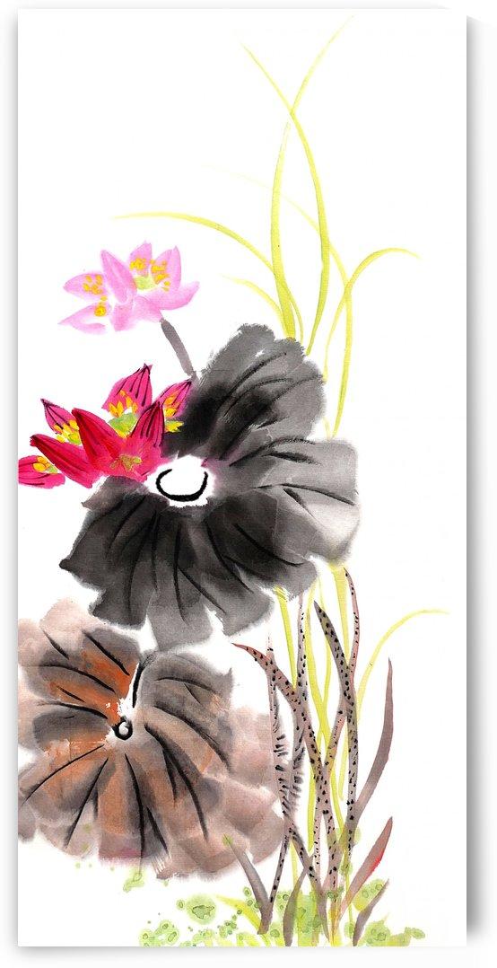 Lotus Flower by Birgit Moldenhauer