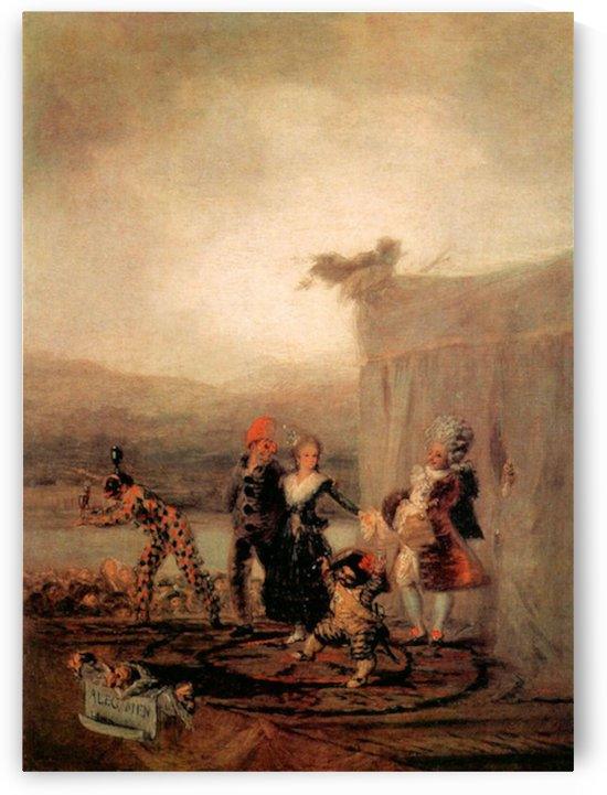 Comicos Ambulantes by Goya by Goya