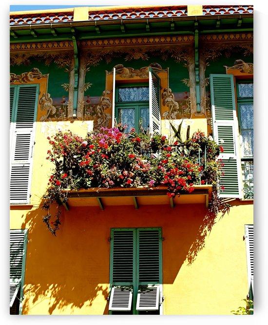 Menton Tiny Balcony by Shadow and Form