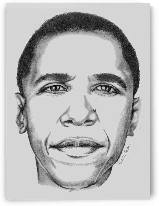 Leader's face by Gracia Tenorio Art