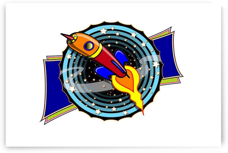 rocket space clipart illustrator by Shamudy