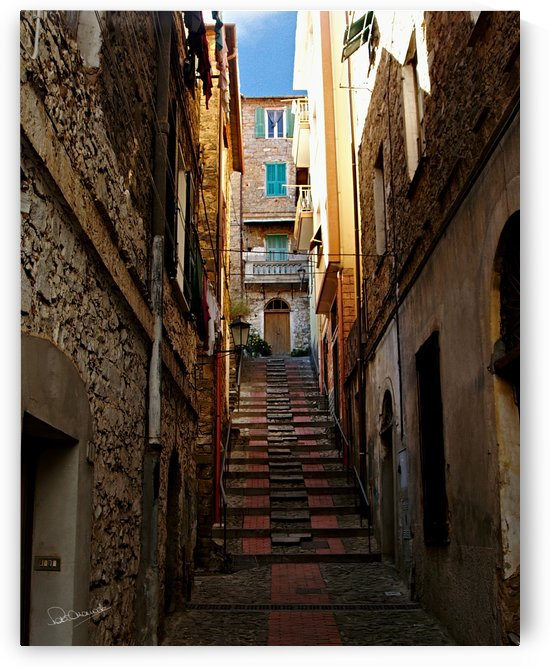 Ceriana Back Street by Shadow and Form