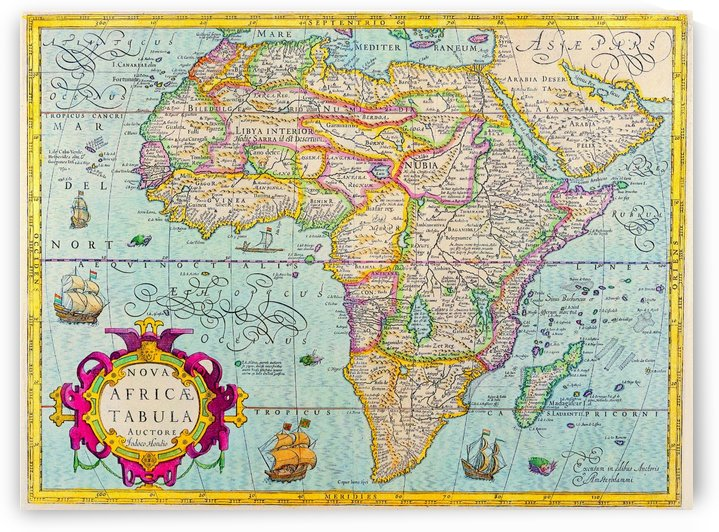 Ancient Africa Map 3 by Culturio