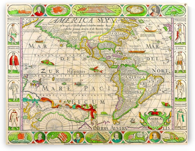 Ancient America Map 3 by Culturio